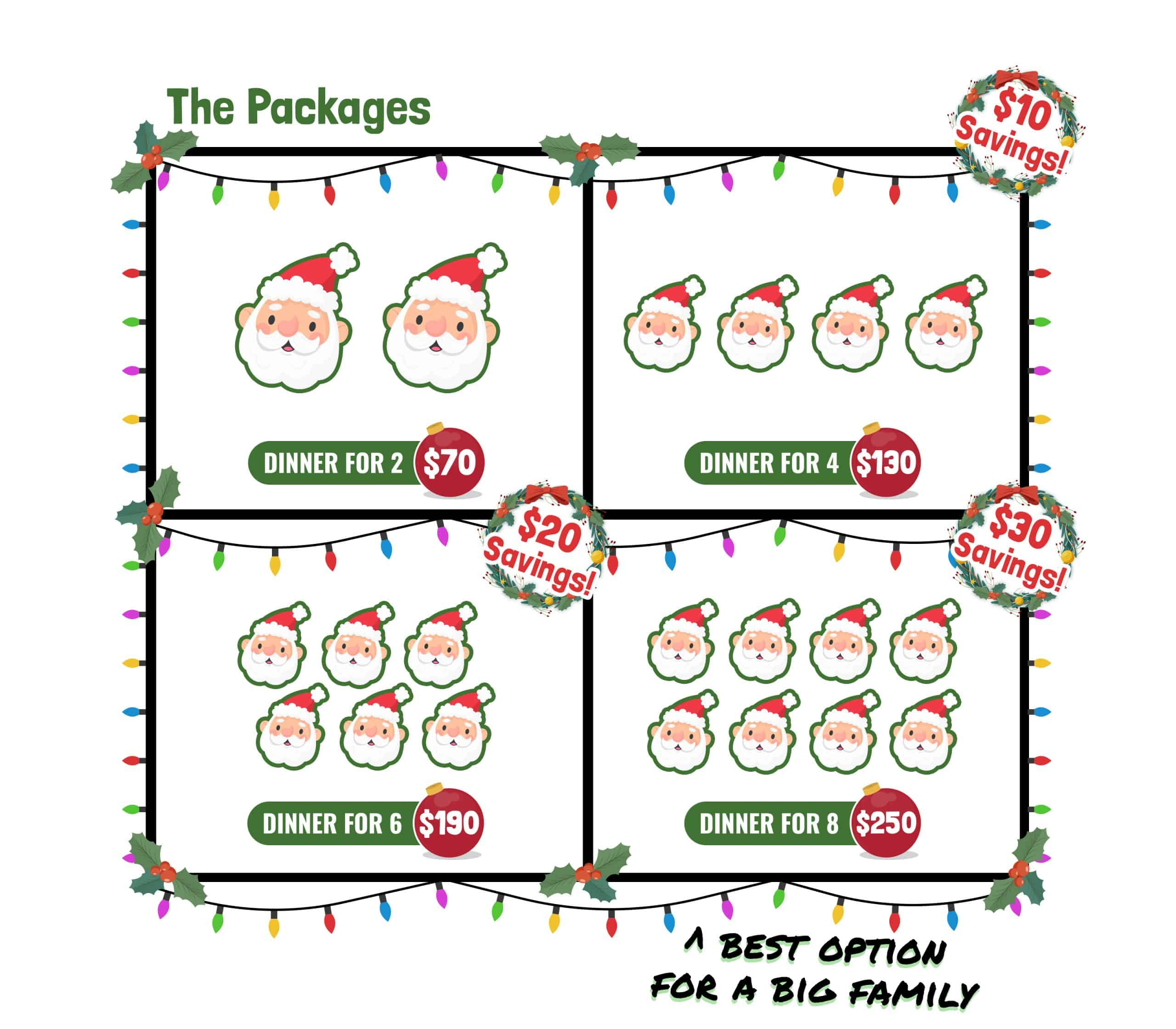 lucky dill christmas packages